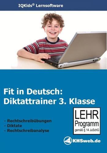 Verpackung von Fit in Deutsch - Diktattrainer - Klasse 3 [PC-Software]