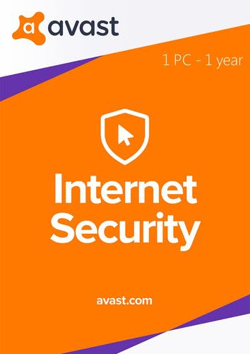 Packaging by Avast Internet Security 2018 - 1 PC / 1 year [PC-software]