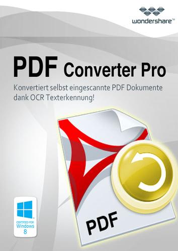 Verpackung von Wondershare PDF Converter Pro - lebenslange Lizenz [PC-Software]
