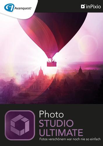 Verpackung von inPixio Photo Studio 10 Ultimate [PC-Software]