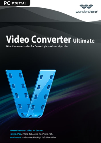 Packaging by Wondershare Video Converter Ultimate (Version 2017) - Lifetime License [PC-software]