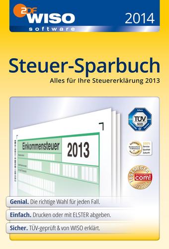 Verpackung von WISO Steuer-Sparbuch 2014 (für Steuerjahr 2013) [PC-Software]