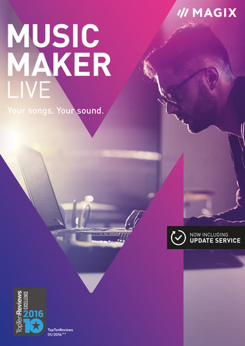 Packaging by Magix Music Maker Live (2017) [PC-software]
