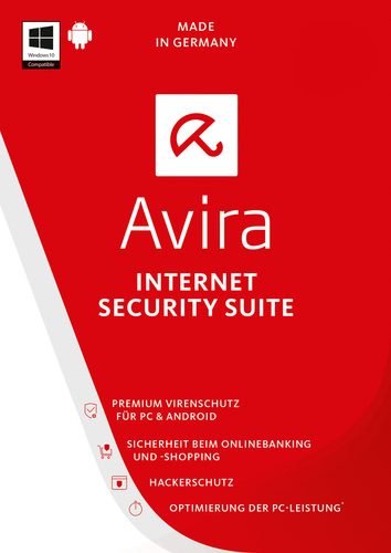 Avira Internet Security Suite 2017 – 3 Geräte / 36 Monate