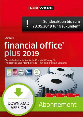 financial office Plus 2019 Abonnement (Aktionspreis) (Download), PC