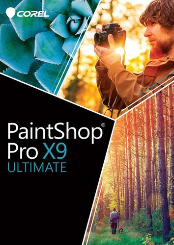Verpackung von Corel PaintShop Pro X9 Ultimate [PC-Software]