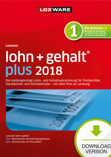 Lexware lohn+gehalt plus 2018 Download – Abo Version