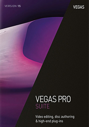 Packaging by Vegas Pro 15 Suite [PC-software]