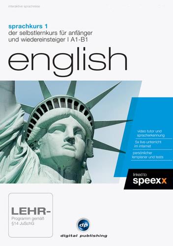 Verpackung von Sprachkurs 1 English [PC-Software]