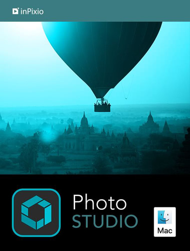 Verpackung von inPixio Photo Studio 10 für MAC [Mac-Software]
