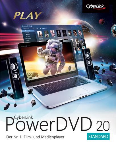 Verpackung von Cyberlink PowerDVD 20 Standard [PC-Software]