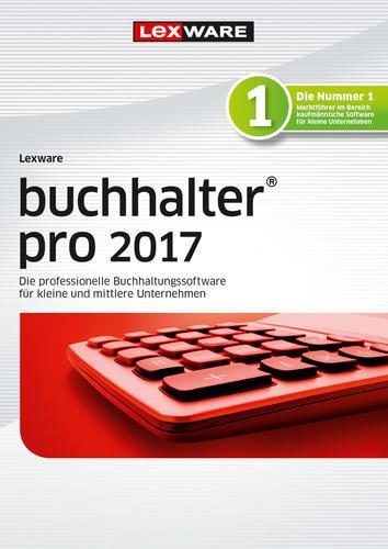 Verpackung von Lexware buchhalter pro 2017 Jahresversion (365-Tage) [PC-Software]