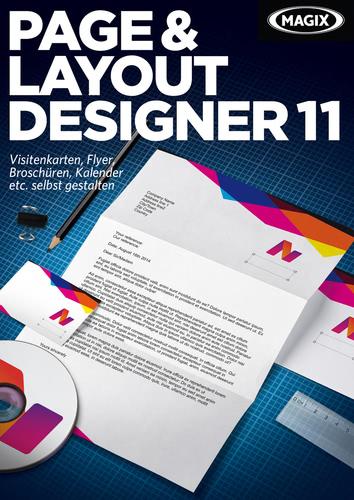 Verpackung von Magix Page & Layout Designer 11 [PC-Software]