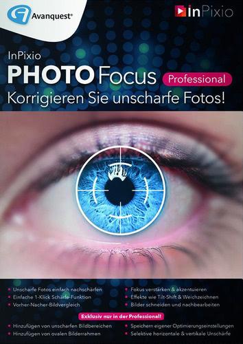 Verpackung von InPixio Photo Focus Professional [PC-Software]