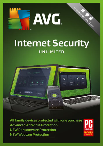 Packaging by AVG Internet Security (2018) - Unlimited [MULTIPLATFORM]