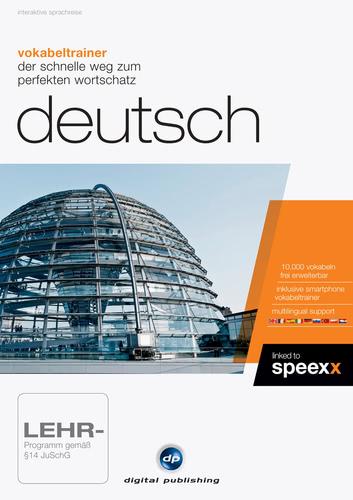 Verpackung von Vokabeltrainer Deutsch [PC-Software]