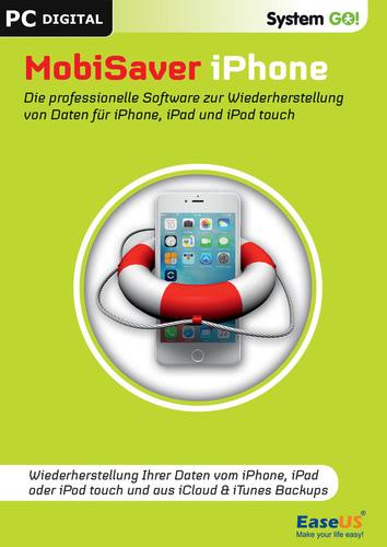 Verpackung von bhv SystemGO MobiSaver iPhone 6.5 [PC-Software]