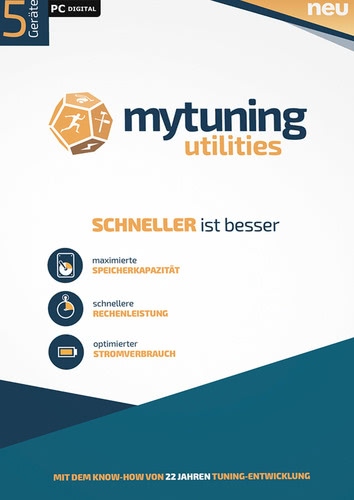 Verpackung von S.A.D. mytuning utilities 5 PCs [PC-Software]