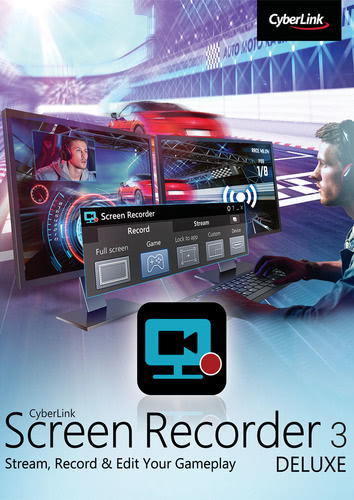 Packaging by CyberLink Screen Recorder 3 Deluxe [PC-software]