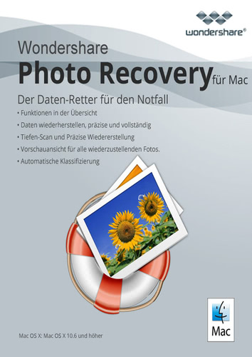 Verpackung von Wondershare Photo Recovery [Mac-Software]