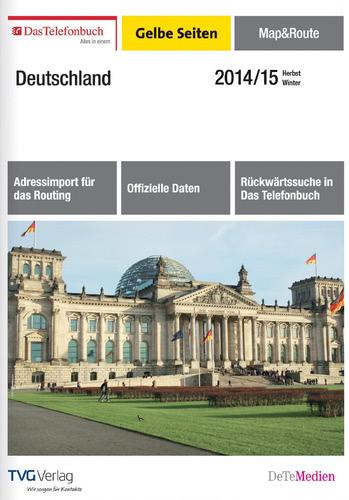 Verpackung von Das Telefonbuch Gelbe Seiten Map&Route Herbst/Winter 2014/15 [PC-Software]
