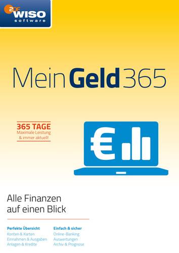 Verpackung von WISO Mein Geld 365 Tage (Version 2018) [PC-Software]