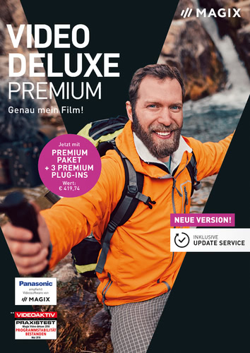 Verpackung von Magix Video Deluxe 2019 Premium [PC-Software]