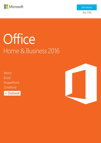Packaging by Office Home and Business 2016 [PC-software]