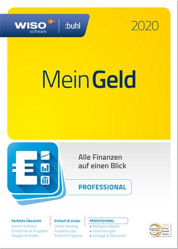Verpackung von WISO Mein Geld Professional (Version 2020) [PC-Software]
