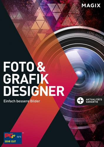 Verpackung von Magix Foto & Grafik Designer 12 (2016) [PC-Software]