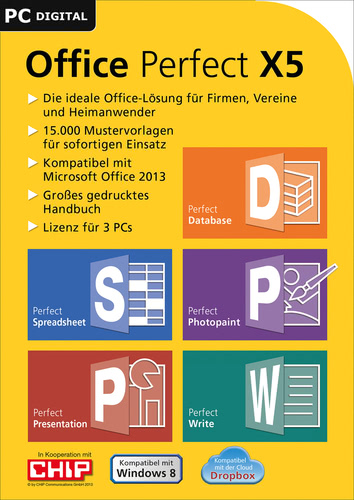 Verpackung von Office Perfect X5 [PC-Software]