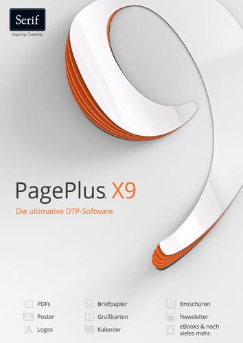 Verpackung von Serif Serif PagePlus X9 [PC-Software]
