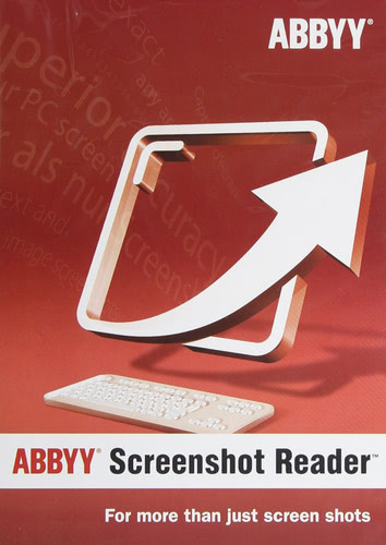 Verpackung von ABBYY Screenshot Reader [PC-Software]