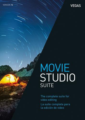 Packaging by VEGAS Movie Studio 14 Suite [PC-software]