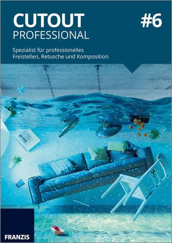 Verpackung von Franzis CutOut Professional 6 [Mac-Software]