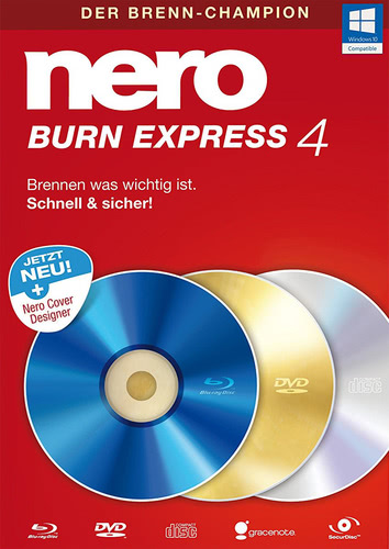Burn Express 4, (Box), PC