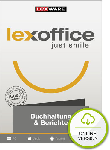Lexoffice Buchhaltung + Berichte – 1 Jahreslizenz – die Online-Buchhaltung (Cloud-Lösung) (Download), PC