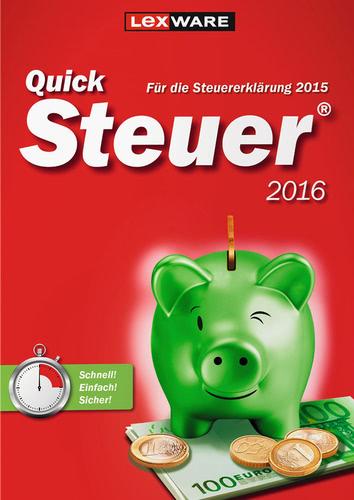 Verpackung von Quicksteuer 2016 (für Steuerjahr 2015) [PC-Software]