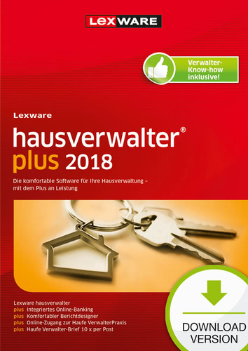 Lexware hausverwalter plus 2018, ESD (Download)...