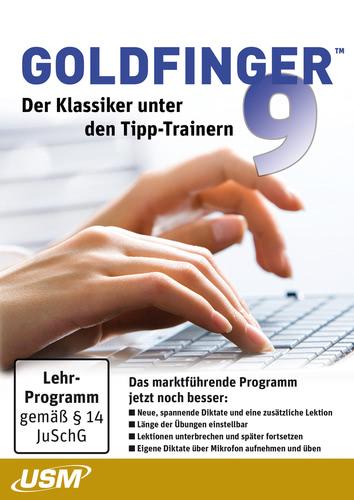 Verpackung von Goldfinger 9 - Der ultimative Tipp-Trainer [PC-Software]