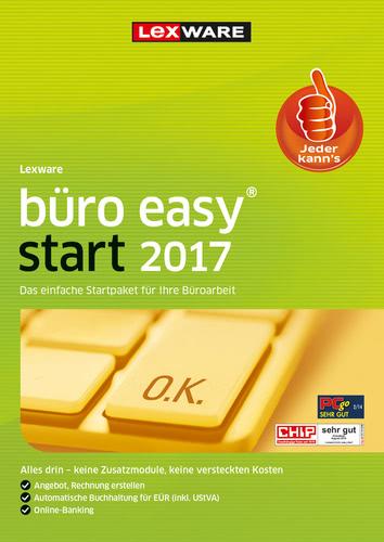 Verpackung von Lexware büro easy start 2017 Jahresversion (365-Tage) [PC-Software]
