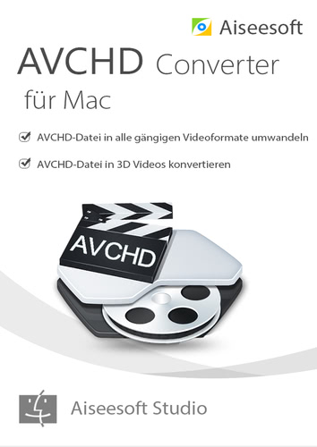 Aiseesoft avchd video converter MAC- Lebenslange Lizenz (Download), MAC