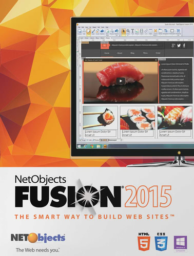 Packaging by NetObjects Inc. Fusion 2015 Upgrade [PC-software]