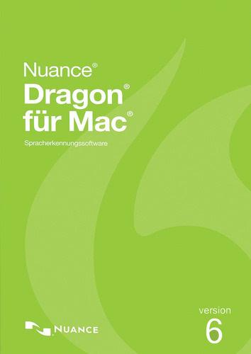 Verpackung von Nuance Dragon Professional Individual 6.0 für Mac [Mac-Software]