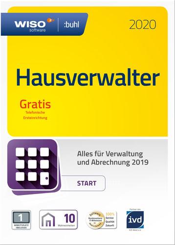 Verpackung von WISO Hausverwalter 2020 Start [PC-Software]