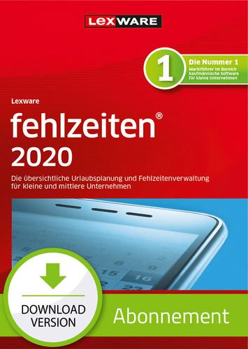 Lexware fehlzeiten 2020 – Abo-Version (Download), PC