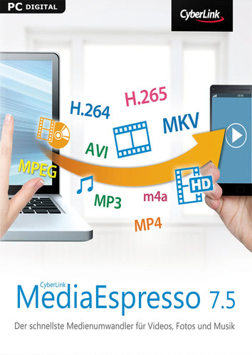 CyberLink MediaEspresso 7.5, ESD (Download) (PC)