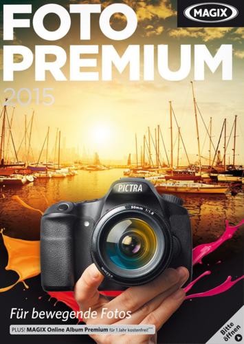 Verpackung von MAGIX Foto Premium 2015 [PC-Software]