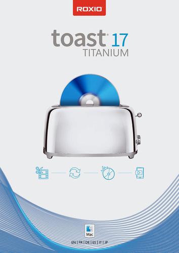 Verpackung von Roxio Toast 17 Titanium [Mac-Software]