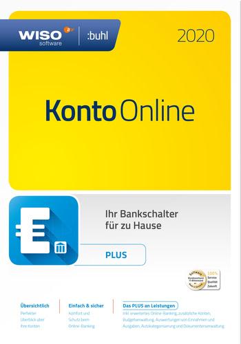 Verpackung von WISO Konto Online Plus (Version 2020) [PC-Software]